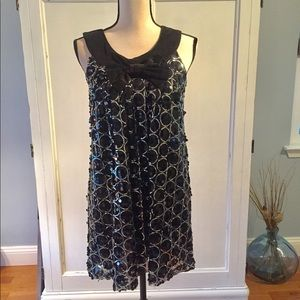 Angie swing sequined dress